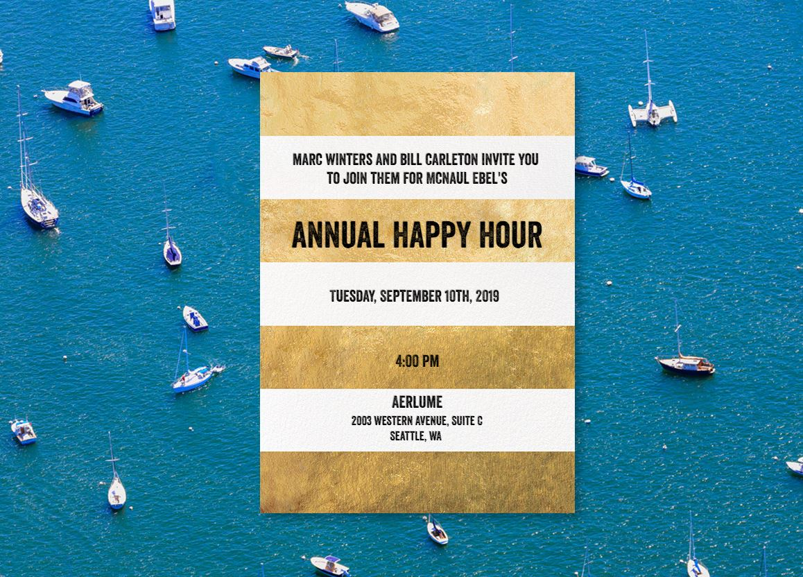Posted on August 27, 2019 by McNaul Ebel Nawrot & Helgren PLLC | MENH Annual Happy Hour